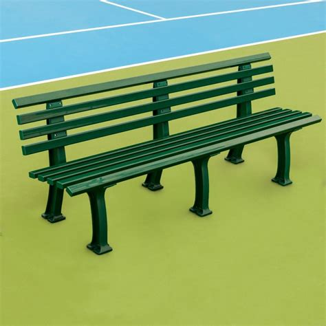 tennis bench plastic courtside benches tennis court seating tennis
