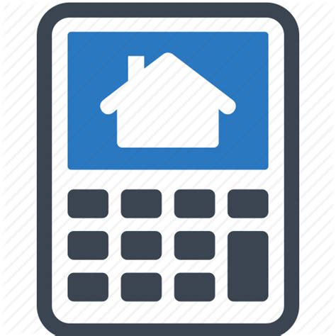 loan mortgage calculator real estate icon icon search