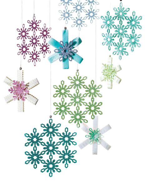 snowflake template martha stewart eric pike s glittered snowflake ornaments martha stewart