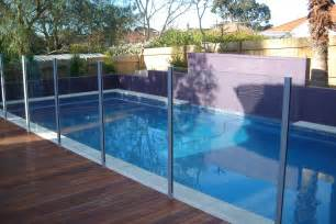 why install a glass pool fence homespun executive