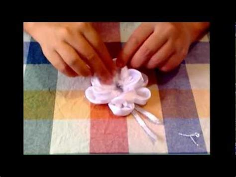 tutorial rose di organza tutorial rosa di raso rose of satin youtube