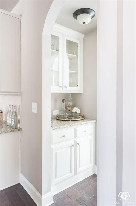 organization ideas for a small butler s pantry kelley nan