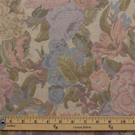 english upholstery english traditional vintage floral garden tapestry