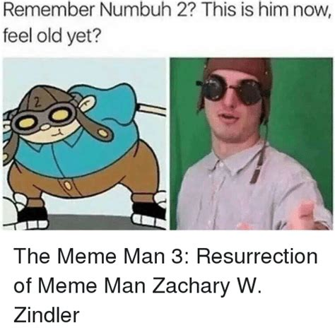 Meme Man - remember numbuh 2 this is him now feel old yet the meme