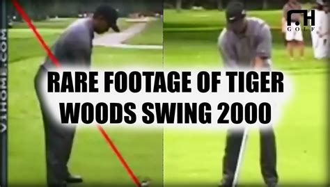 tiger woods golf swing 2000 rare footage of tiger woods golf swing in 2000 youtube