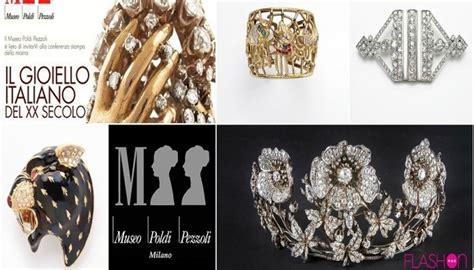 design italiano del xx in mostra a milano quot il gioiello italiano del xx secolo quot