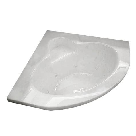 corner bathtub home depot american standard everclean corner 5 ft whirlpool tub in