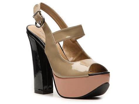 dsw platform sandals laundry fearless platform sandal dsw
