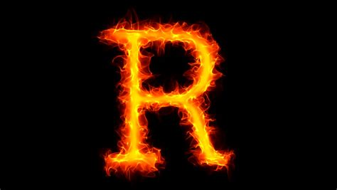 Letter Hd Song Letter R On Stock Footage 1034806
