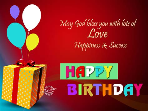 Happy Birthday And God Bless You Wishes May God Bless You Happy Birthday Wishbirthday Com