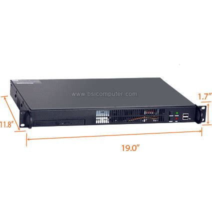 Rack Mount Pc by Rms108 1u Rack Mount Computer Bsicomputer