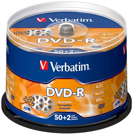 Dvd Verbatim Tb 50 other verbatim 50 pack dvd r