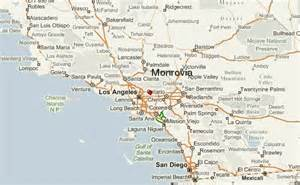 monrovia california map monrovia california location guide