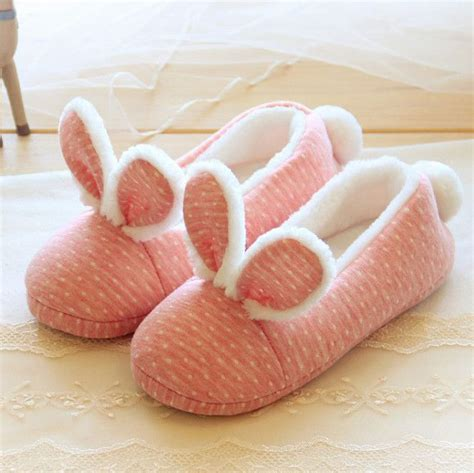 Flat Pink Yt013 Promo pink rabbit home warm slippers se6669 flats coupon codes and style