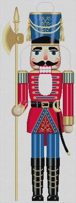 large nutcracker soldier needlepointus world class needlepoint susan needlepoint designs painted