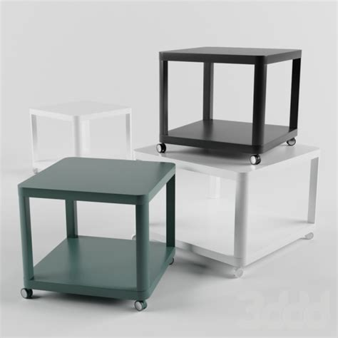 Ikea Tingby Side Table On Castors 3d модели столы ikea tingby side tables on castors