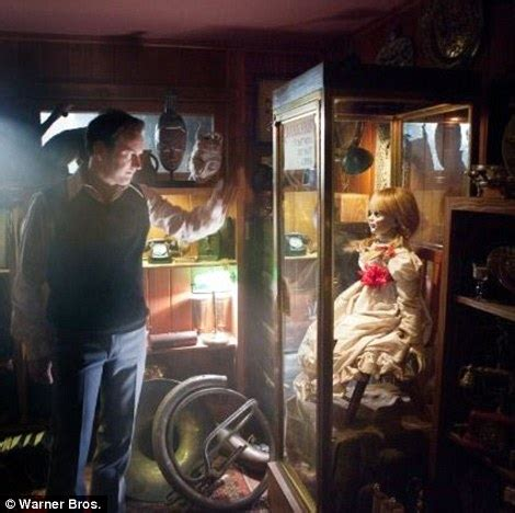 annabelle doll at warrens occult museum inside the house of horrors that inspired the conjuring