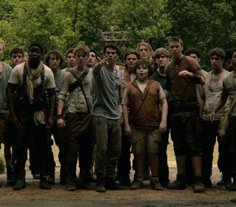 film the maze runner 2 online subtitrat hd the maze runner movie still shows a group shot of the gladers