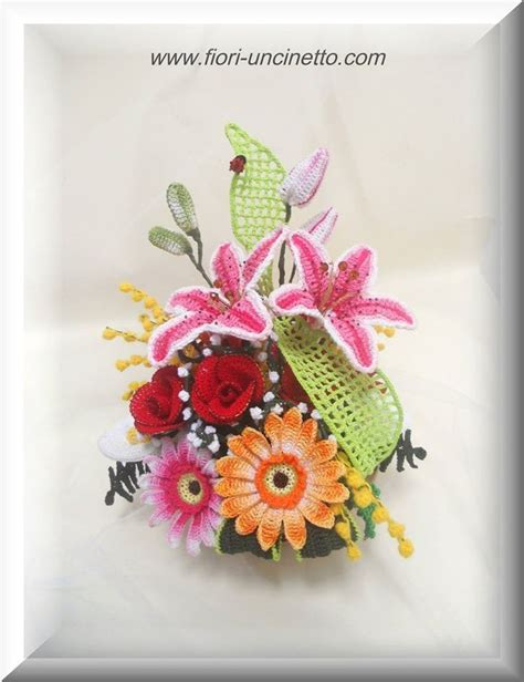 tutorial fiori all uncinetto 1215 best images about crochet flowers on