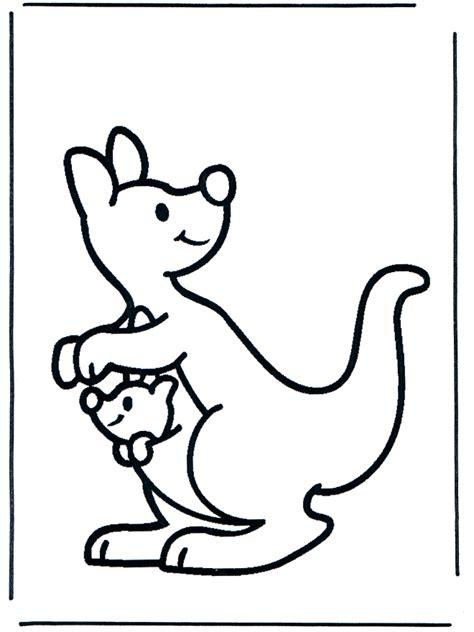 kangaroo coloring page kangaroo coloring pages coloringpages1001