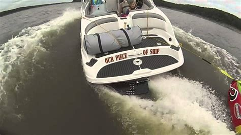 wake shaper jet boat wake wedge in action youtube