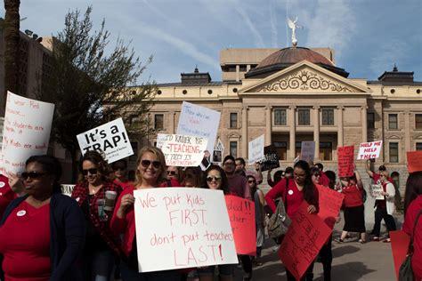 it help desk jobs phoenix az arizona teachers near walkout over pay funding kjzz