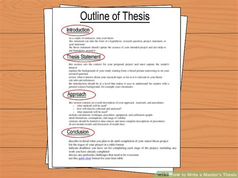 how to write a master s dissertation how to write a master s thesis with pictures wikihow