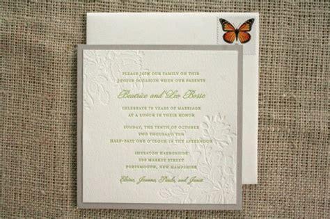70th Wedding Anniversary Invitations