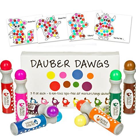 a dot markers paint daubers activity book the sea learn as you play do a dot page a day animals books 8 pack washable dot markers bingo daubers dabbers dauber