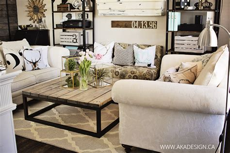 Industrial Rustic Living Room by The New Moroccan Trellis Rug In The Living Room