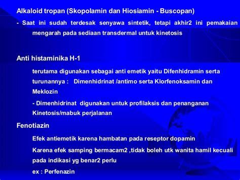 Obat Vometa obat sistem saraf