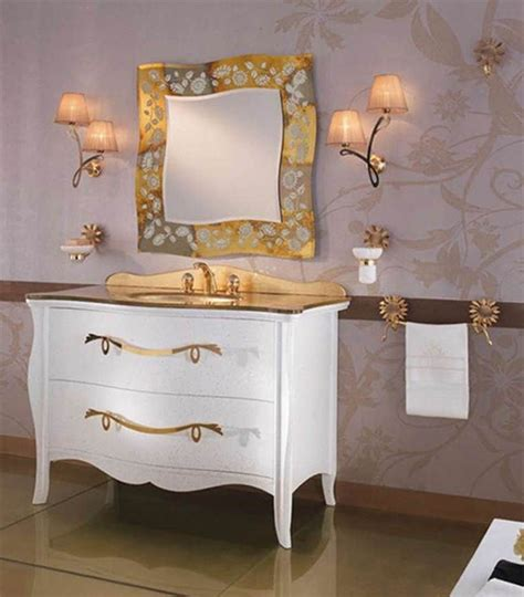 High End Bathroom Furniture Beaufiful Gold Bathroom Vanity Lights Images Gt Gt Gold Bathroom Light Fixtures Fpudining Gold