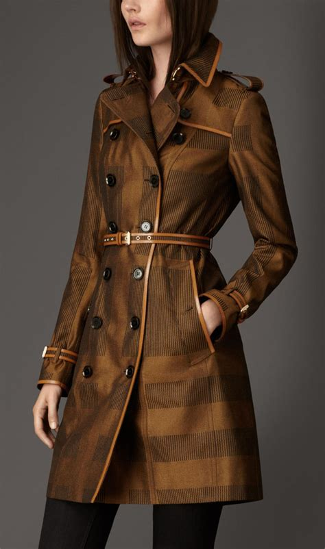 Exclusive To Matches Burberry Prorsum Trench Coat by The 7 Exclusive Journal Burberry Trench Coats