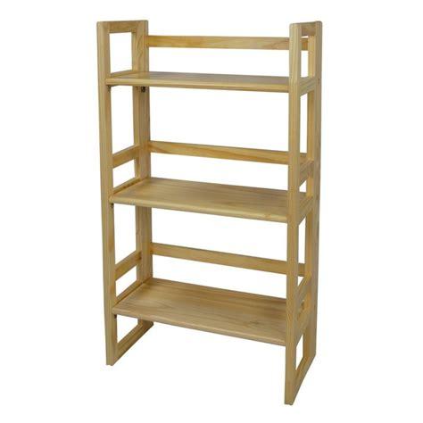 3 shelf wood bookcase bookcases folding stackable 3 shelf wood bookcase amazing
