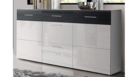 kommode schwarz weiss kommode hochglanz schwarz weiss das beste aus wohndesign
