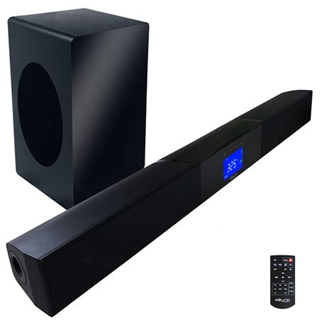top ten sound bar the best soundbar with wireless subwoofer 2015