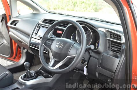 2015 honda jazz diesel vx mt interior review indian