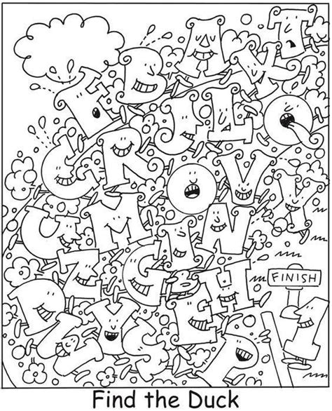 coloring pages hidden letters 24 best zomer images on pinterest schools colleges and emo