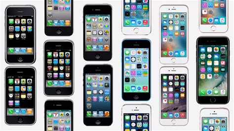 iphone years how apple s iphone has changed the last 10 years aapl quartz