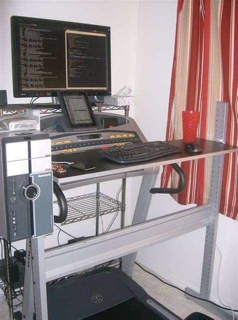 Treadmill Desk Diy Ikea Jerker Do It Yourself Treadmill Desk