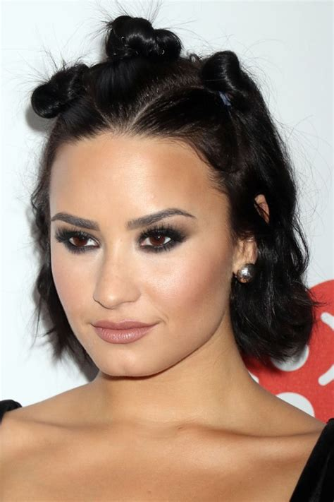 half hairstyles for black blackhairlab demi lovato s hairstyles hair colors style