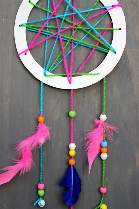 How To Make A Paper Dreamcatcher - how to make a catcher for on can a