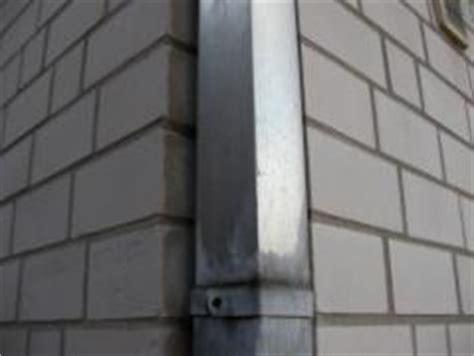 dachrinne für pavillon regen 226 abwasser per fallrohr ableiten bauunternehmen