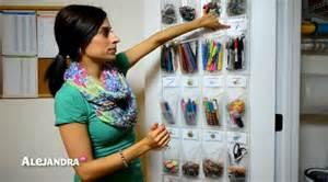 school supply organization how to organize small supplies at home