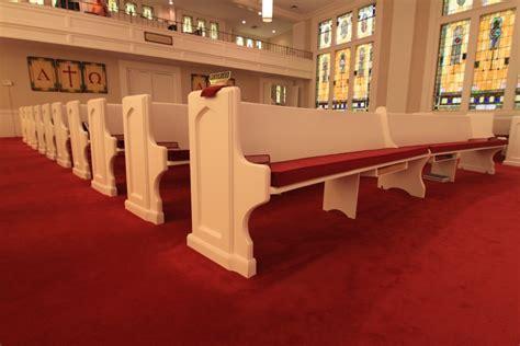 church bench cushions pew cushions pads cushioning for church pews church