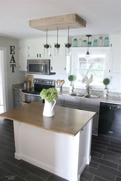 diy farmhouse kitchen decor projects  ideas