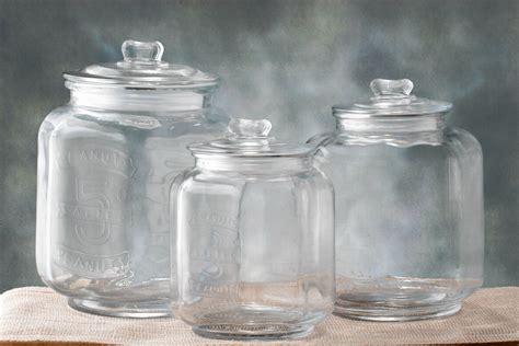 cookie jar glass cookie jar medium 7 3 8 x 10in
