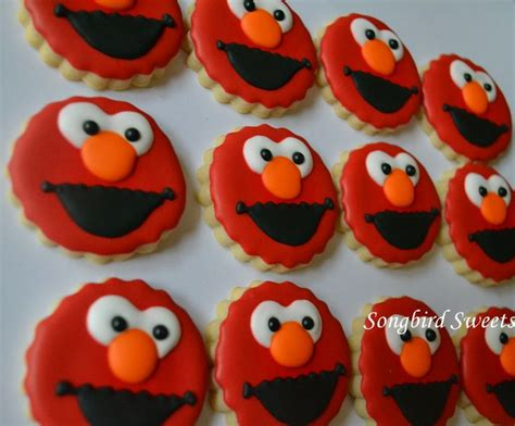 elmo cookies cookies all occasions pinterest