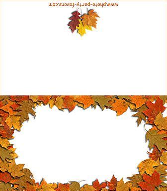 Printable Fall Place Cards Template by 374 Best Images About Fall Thanksgiving