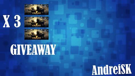 Cs Go Cd Key Giveaway - giveaway 3 cd key uri de cs go youtube